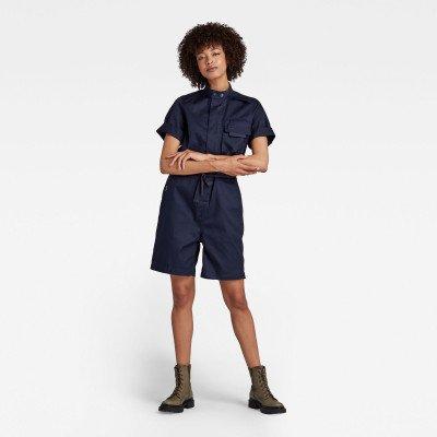 G-Star RAW Workwear Jumpsuit - Donkerblauw - Dames