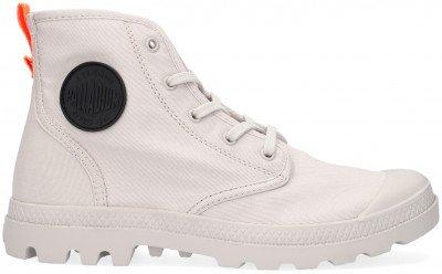 Palladium Grijze Palladium Hoge Sneaker W Pampa Hi Twill