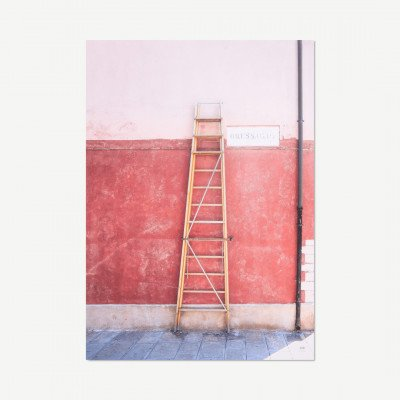 MADE.COM David & David Studio, Via Bressagio, print, door Philippe David, 50 x 70 cm