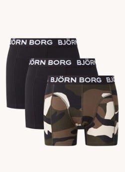 Bjorn Borg Björn Borg Core boxershorts met logoband in 3-pack