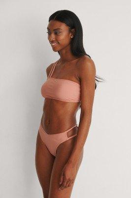 NA-KD Swimwear NA-KD Swimwear Gerecycleerd V-vormig Bikinibroekje - Pink