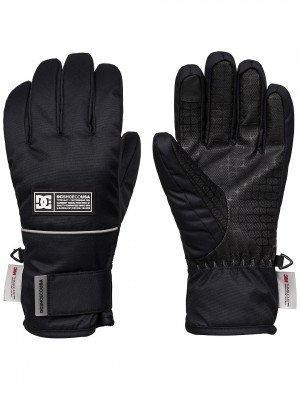 DC DC Franchise Gloves zwart