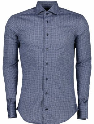 Cavallaro Napoli Cavallaro Napoli Heren Overhemd - Andres overhemd - Blauw