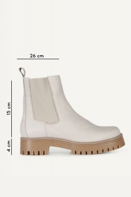 Shoecolate Shoecolate Chelsea boot Offwhite 8.21.10.184