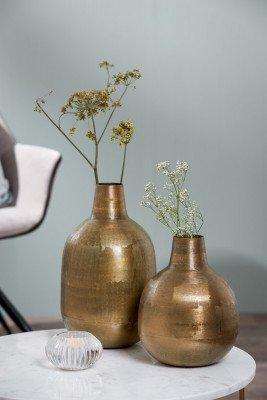 Light en Living Light & Living Vaas 'Faryl' 43cm, kleur Antiek Brons