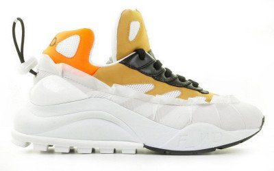 F-WD F-WD FW33032D Wit/Multicolor Damessneakers