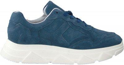 Tango Blauwe Tango Lage Sneakers Kady Fat