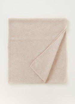 Repeat Repeat Fijngebreide sjaal van kasjmier 40 x 175 cm