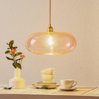 Ebb en Flow EBB & FLOW Horizon hanglamp rosé-goud Ø 36cm
