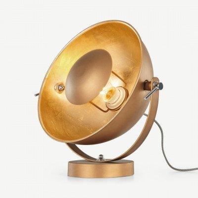 MADE.COM Chicago tafellamp, antiek koper en goud