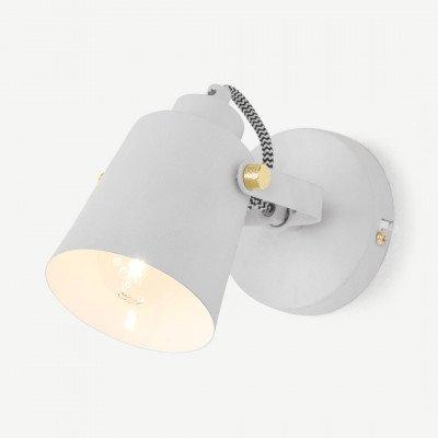 MADE.COM Seppo spotlamp, wit