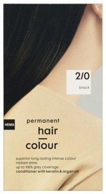 HEMA Haarkleuring Zwart 2/0