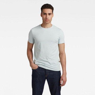 G-Star RAW Slim Base T-Shirt - Lichtblauw - Heren