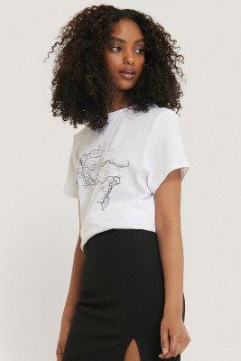 NA-KD Trend T-Shirt - White