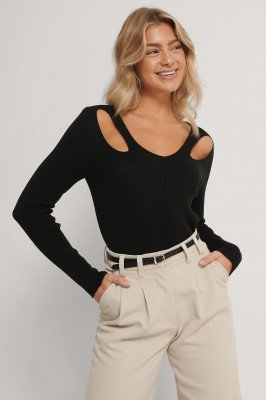 Trendyol Top - Black