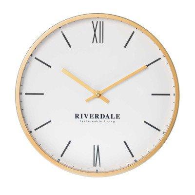 Riverdale NL Wandklok Ferro goud 53cm