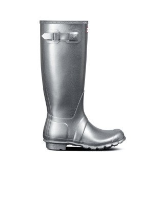 Hunter Boots Women's Tall Cosmic Glitter Wellington Boots