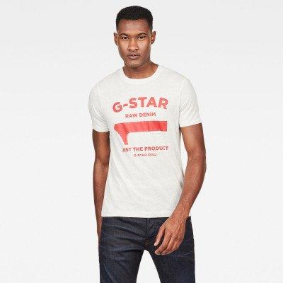 G-Star RAW Gs First Slim T shirt - Wit - Heren