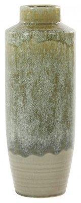 Light en Living Light & Living Vaas 'Sierra' 38cm, kleur Olijfgroen