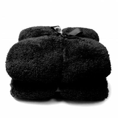 plaid TEDDY Zwart