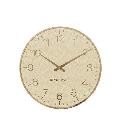 Riverdale NL Wandklok Ritz goud 40cm