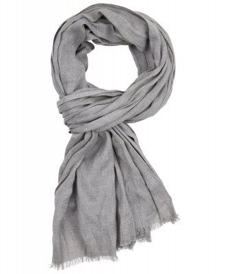 Profuomo Profuomo heren scarf woven l grey