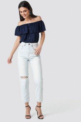 Cheap Monday Cheap Monday Donna Off Blue Jeans - Blue
