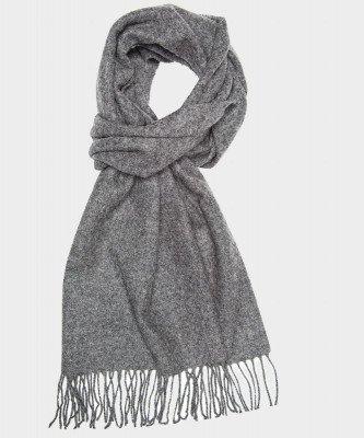 Michaelis Michaelis heren klassieke geweven sjaal grijs