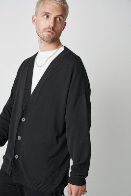 Marcus Butler for nu-in 100% Upcycled Blend Oversized Cardigan
