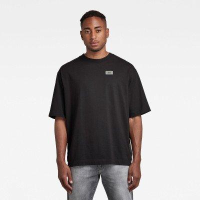 G-Star RAW Side Tape Loose T-Shirt - Zwart - Heren