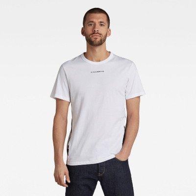 G-Star RAW Sport A Tape T-Shirt - Wit - Heren