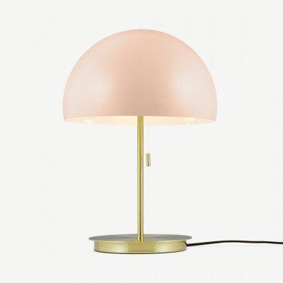 MADE.COM Collet tafellamp, roze