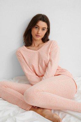 NA-KD Lingerie Loungewear Cotton Set - Pink