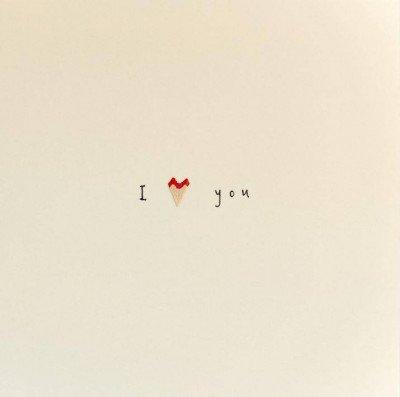 Growing Concepts Wenskaart - I love you