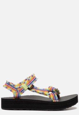 Teva Teva Midform Fray sandalen meerkleurig