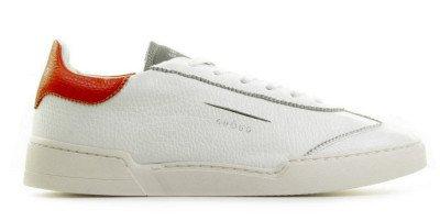GHOUD GHOUD L1LMLD34 Wit/Rood/Grijs Herensneakers
