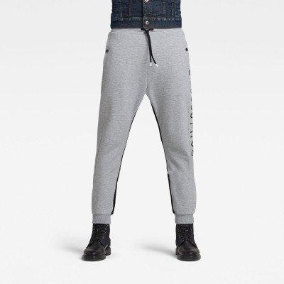 G-Star RAW Moto Mixed Mesh Sweatpants - Grijs - Heren