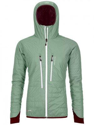 Ortovox Ortovox Swisswool Piz Boe Jacket groen