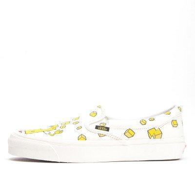 Vans Vans Vault UA OG Classic Slip-On White Yellow SpongeBob Collection