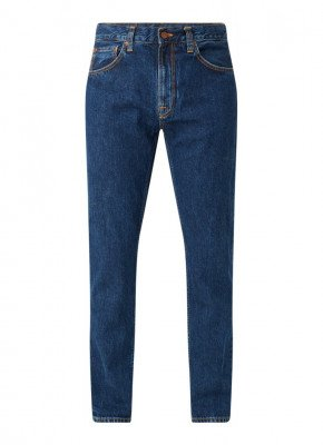 Nudie Jeans Nudie Jeans Gritty Jackson straight fit jeans met medium wassing