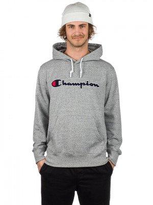 Champion Champion Logo Hoodie grijs