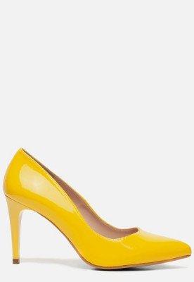 Giulia Giulia Pumps geel lak