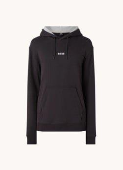Hugo Boss HUGO BOSS Weedo hoodie met logo