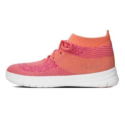 FitFlop FitFlop F-Sporty Uberknit sneakers roze