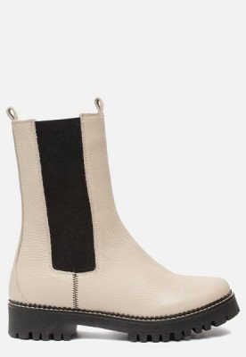 Linea Zeta Linea Zeta Chelsea boots beige