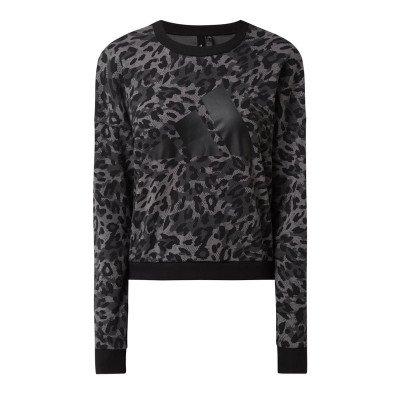 adidas performance Sweatshirt met luipaardmotief