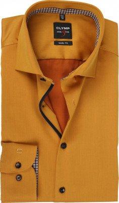 Olymp OLYMP Overhemd Lvl 5 Geel