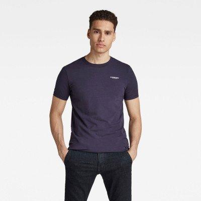 G-Star RAW Slim Base T-Shirt - Donkerblauw - Heren