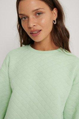 Lisa-Marie Schiffner x NA-KD Trui - Green