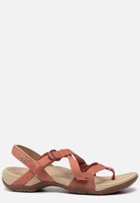 Teva Teva Ascona Cross sandalen roze